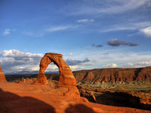 Delicate Arch,  Landscape Royalty Free Stock Images