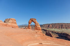 Delicate Arch Landscape Royalty Free Stock Photography