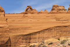 Delicate Arch landscape, Utah Royalty Free Stock Images