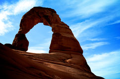 The Delicate Arch Stock Photo
