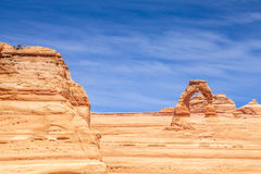 Delicate Arch Monument Royalty Free Stock Photography