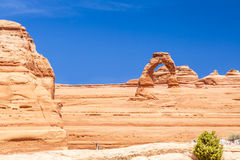 Delicate Arch Monument Stock Photos