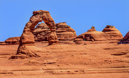 Delicate Arch Rock Canyon Arches National Park Moab Utah Stock Photos