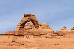 Delicate Arch, Utah Stock Photography
