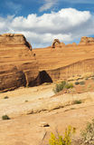 Delicate Arch View Stock Images