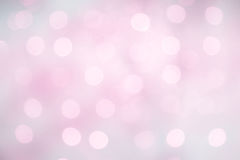 Delicate Beautiful Lilac Pink Background with bokeh Royalty Free Stock Photo
