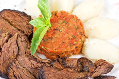 Delicate beef fillet Royalty Free Stock Photography