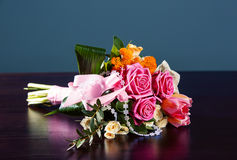 Delicate bouquet of flowers Stock Image