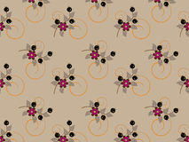 Delicate bunch of flowers. Background. Wallpaper. royalty free illustration