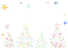 Delicate Christmas background Royalty Free Stock Photo