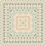 Delicate colored handkerchief Stock Images