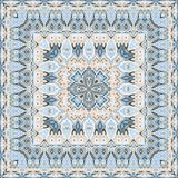 Delicate colored handkerchief Royalty Free Stock Image
