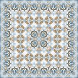 Delicate colored handkerchief Royalty Free Stock Images