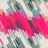 Delicate colored lines geometric abstract background Stock Photos