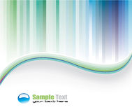 Delicate Colorful Business Background Royalty Free Stock Photography