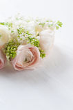 Delicate elegant bouquet of flowers Royalty Free Stock Image