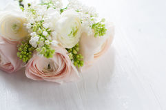 Delicate elegant bouquet of flowers Stock Photography