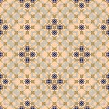 Delicate elegant floral seamless pattern. Blue, sand, apricot colors. Vector illustration for beautiful creative design Stock Photos