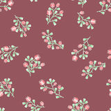 Delicate floral pattern Royalty Free Stock Image