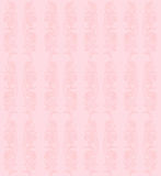 Delicate floral seamless pattern on a pink background Royalty Free Stock Photo