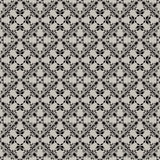 Delicate flowery pattern on a grey background. Stock Photography