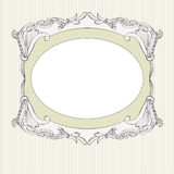 Delicate frame Royalty Free Stock Photography