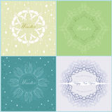 Delicate frames Royalty Free Stock Photos