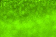 Delicate glitter bokeh Chartreuse background. Creative and moody color of the picture. Color of the 2019 year royalty free stock image