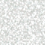 Delicate Grey and White Seamless Pattern of Symmetric Triangles. Delicate Pale Pattern for Business Presentations, Publications, Banners. Geometric Concept Royalty Free Stock Image