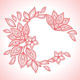Delicate lace background, abstract ornament Royalty Free Stock Image