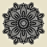 Delicate lace doily pattern Royalty Free Stock Image