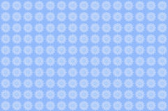Delicate lace pattern. In white on a blue background Royalty Free Stock Photo