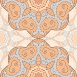 Delicate lace seamless pattern Stock Image