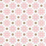 Delicate lovely vector seamless pattern Stock Photo
