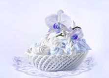 Delicate meringue Royalty Free Stock Photography