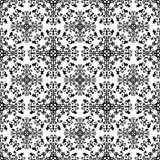 Delicate monochrome pattern. Stock Images
