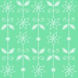 Delicate pattern. Cyclically repeating floral pattern as a background Royalty Free Stock Photos