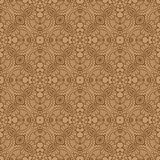 Delicate pattern. Delicate seamless pattern with ethnicity motif Royalty Free Stock Photo