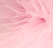 Delicate pink background mesh fluffy fabric Royalty Free Stock Image