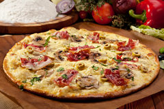 Delicate Pizza Stock Images