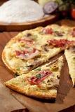 Delicate Pizza Stock Photo