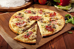Delicate Pizza Stock Image