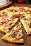 Delicate Pizza Royalty Free Stock Photography
