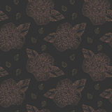 Delicate retro floral seamless pattern background Royalty Free Stock Image