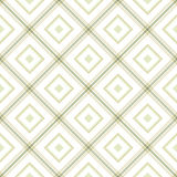 Delicate romb geometric background pattern green white grey Royalty Free Stock Photos