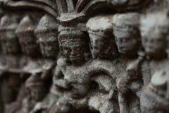 Delicate sandstone carvings Stock Image