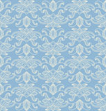 Delicate seamless pattern with abstract flowers. Stock Photography
