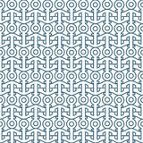 Delicate seamless pattern with anchors. Vector background Royalty Free Stock Photos