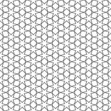Delicate seamless pattern with stars - arabic style. Vector background Stock Images