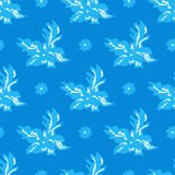 Delicate small flowers seamless pattern Royalty Free Stock Images